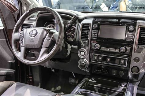 nissan trucks interior 2016 nissan titan xd first look