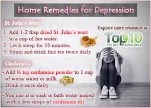 home remedies for depression fighting depression non ways to treat depression
