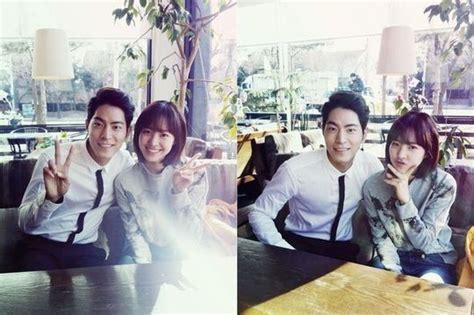 film terbaru hong jong hyun hong jong hyun and jin se yeon pose for a couple photo for