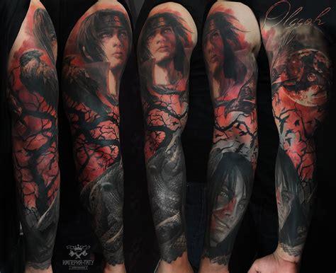 naruto nos desenhos e tatuagens de olga grigoryeva