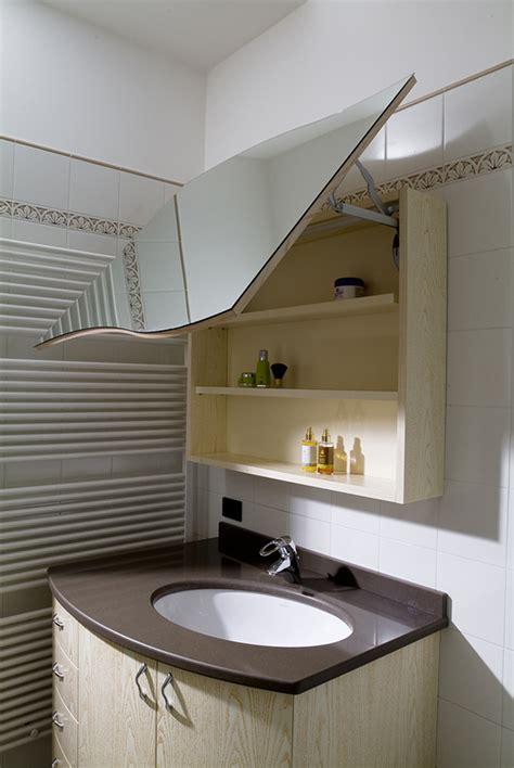 pensile bagno specchio bagno pensile con specchio imax falegnameria