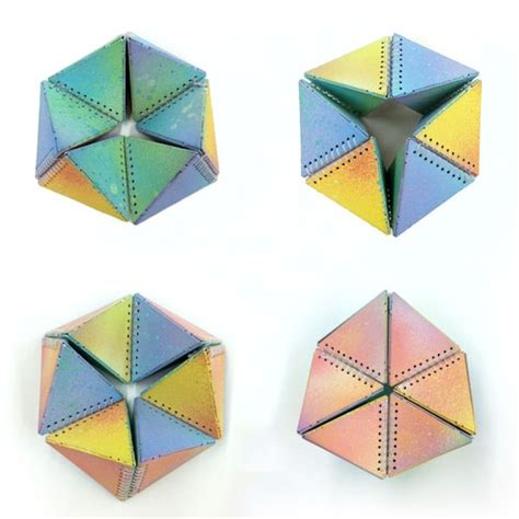 Origami Hexaflexagon - 1000 images about hexaflexagon on attic 24