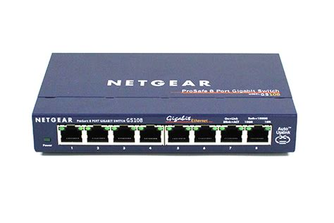 Switch Gigabit 8 Port netgear gs108 8 port unmanaged gigabit switch review gs108na