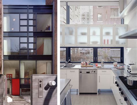 milk design new york new york town house by alexander gorlin architects