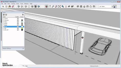 Sketches A Corrugated Bulkhead by Creating Corrugated Exterior Walls Sketchup 2014