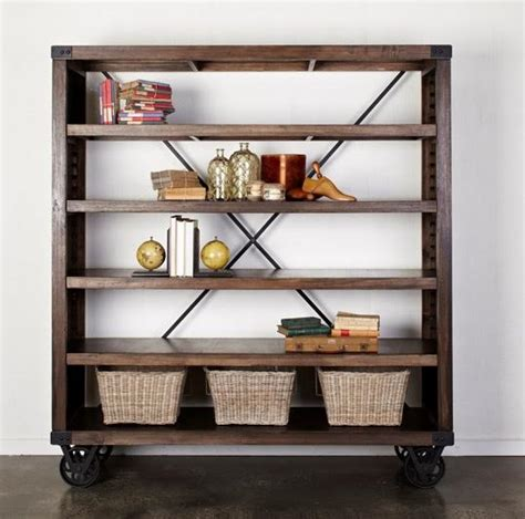 bookshelf on wheels 28 images x jpg factory rustic