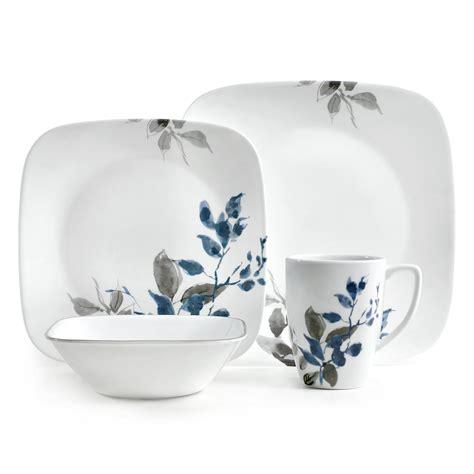 plates dishes corelle vitrelle kitchen design dinnerware 16 pcs set