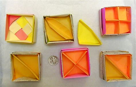How To Make Paper Dividers - origami box dividers by wombat1138 on deviantart