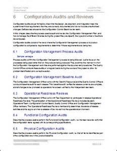 configuration management plan template word configuration management plan 24 page ms word