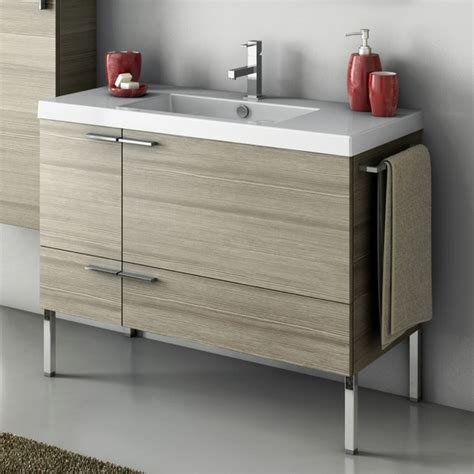 39 bathroom vanity 39 inch vanity cabinet with fitted sink contemporary