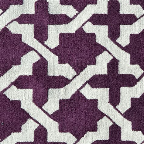Aubergine Rugs by District17 Etchy Aubergine Rug Patterned Rugs