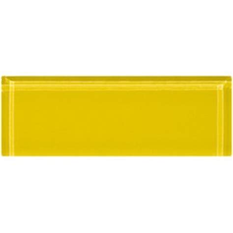 yellow subway tile sle of 1x3 inch bright yellow glass subway tile