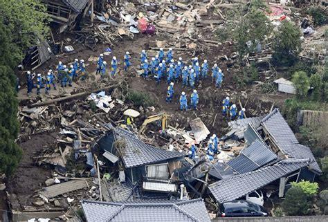 earthquake tokyo japan twin earthquakes kill more than 30 injure 760