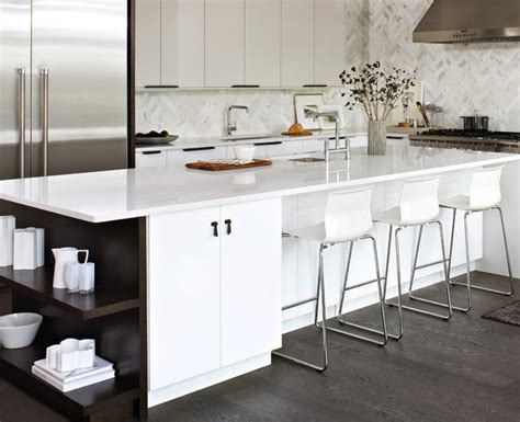 elegant white ikea kitchen modern kitchen toronto