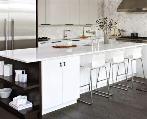 Elegant white ikea kitchen modern kitchen toronto by croma