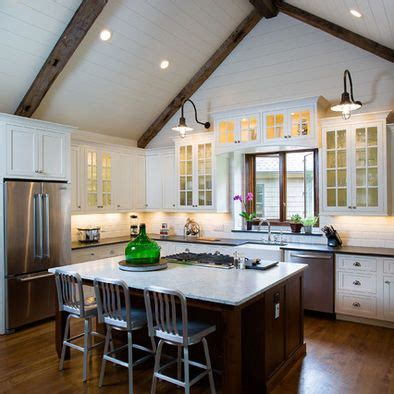 Kitchens With Vaulted Ceilings by Vaulted Ceiling Vaulted Wood Beam Ceiling