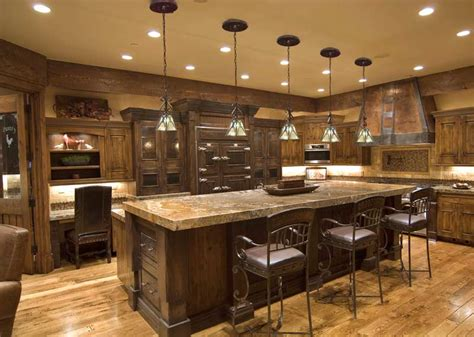 Rustic Kitchen Lights Kitchen Lighting System Classic Elegance