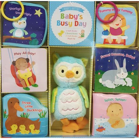 book baby s busy day baby gift set babyonline