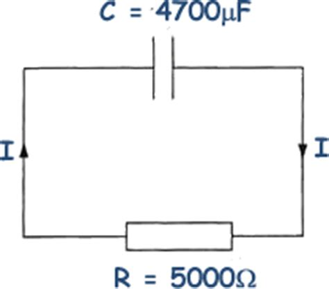 how to discharge a small capacitor a cyberphysics page capacitor questions