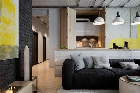 industrial room industrial style living room design the essential guide
