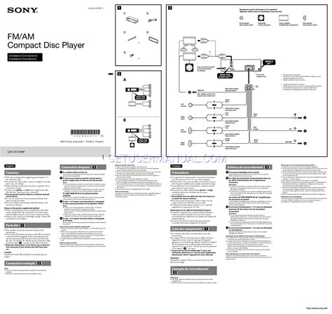 sony reciever wiring diagram wiring diagram
