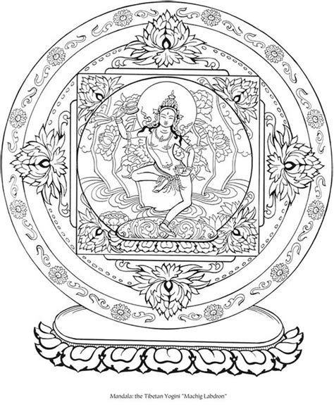 tibetan design welcome to dover publicationscreative tibetan designs coloring book buddha