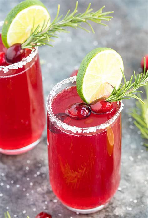 cranberry mimosa margaritas  blond cook