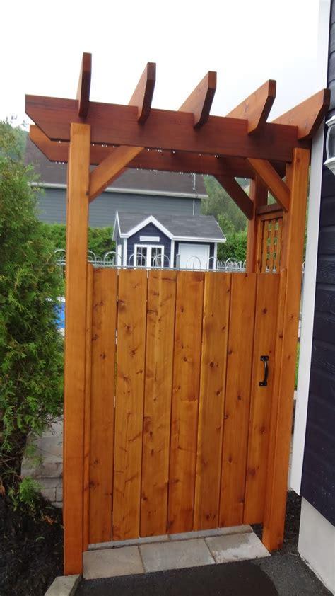 portes de jardin portes de jardin et tonnelles