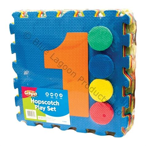 Large Foam Play Mat by Large Outdoor Garden Hopscotch Play Set Mats Pad Foam Mat
