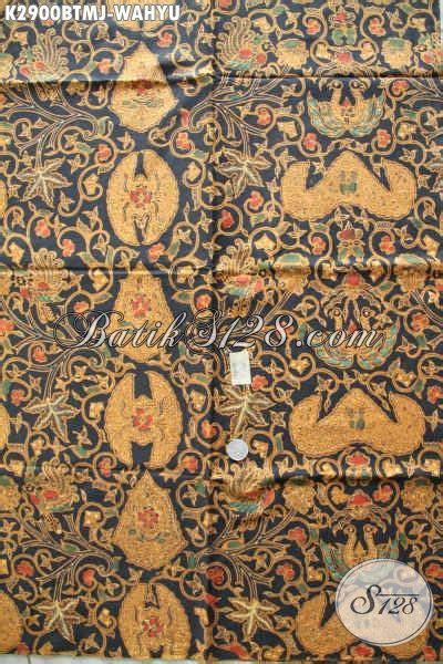 Batik Halus Khas Jogja Motif Wahyu Tumurun jual kain batik jarik klasik kombinasi tulis motif wahyu