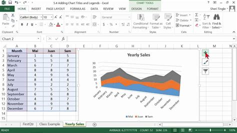 tutorial excel 2013 italiano microsoft office excel 2013 tutorial adding chart titles