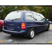 1996 Ford Windstar GL Royal Blue Metallic / Beige Photo 4