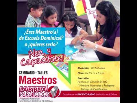 taller para maestros de escuela dominical 01 01 2015 talleres de capacitaci 243 n para maestros de