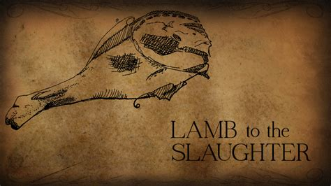 themes in the story lamb to the slaughter lamb to the slaughter thinglink
