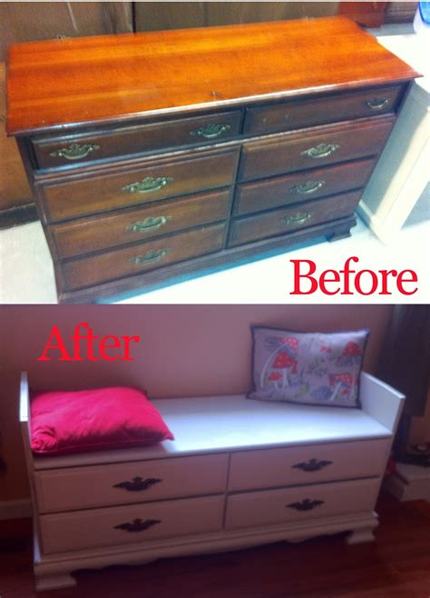 dresser bench project turn an old dresser into a window seat with shoe