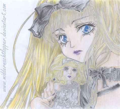 porcelain doll drawing porcelain dolls by middernachtlopper on deviantart