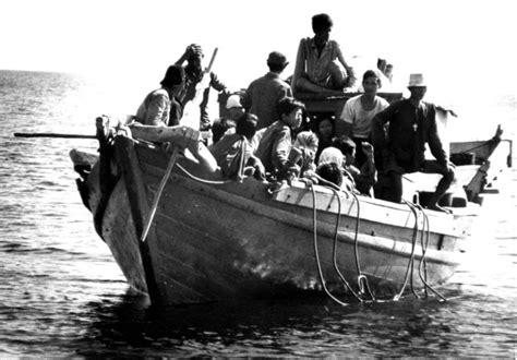 refugee boat vietnam vietnamese boat person speaks out about refugee crisis