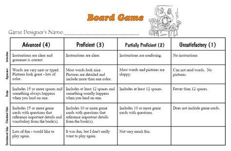 game design rubric neil daly teacher rubrics