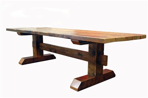 Recycled Timber Dining Tables Reclaimed Timber Frame Trestle Table Farm Table Entertaining Reclaimed Timber