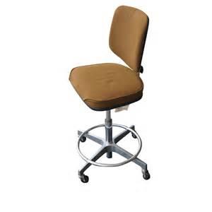 vintage brown cramer adjustable swivel drafting stool ebay