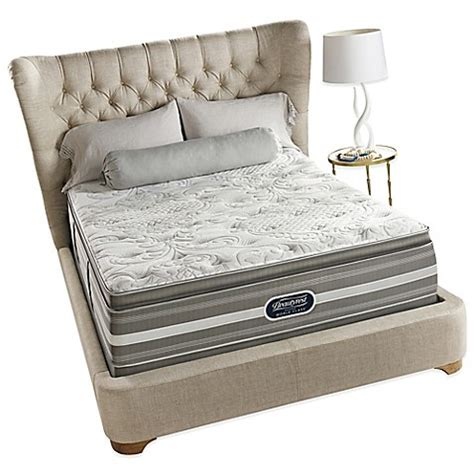 california king bed pillow top buy beautyrest 174 world class 174 heritage pines plush pillow