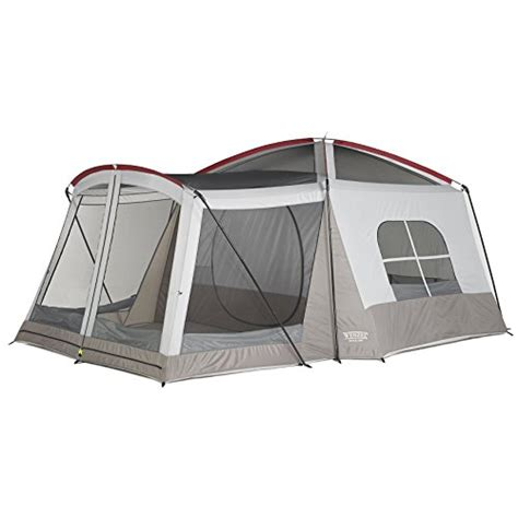 tent with screen room attached wenzel klondike 8 person family tent