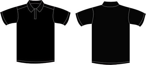 Tshirt Kaos Baju Hitam baju polo polos clipart best