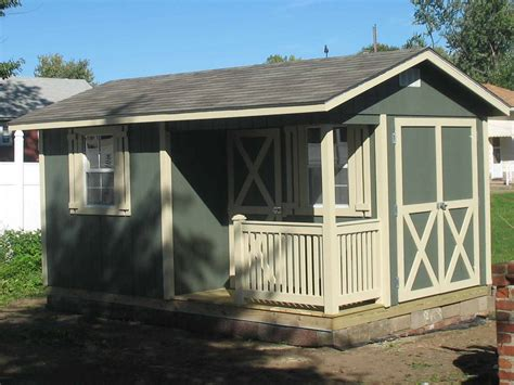 Outdoor Shed Prices Cottage Style Storage Shed Pricing Options List