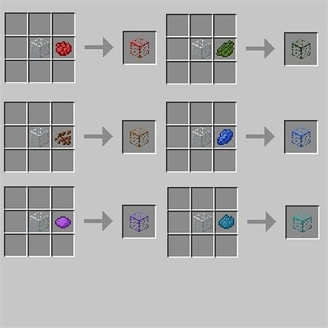 colored glass minecraft colorful glass 1 4 6 forge minecraft mod