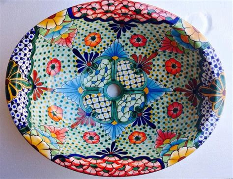 Talavera Hand Painted Mexican Internet Vs