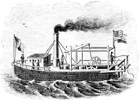steamboat john fitch saltofamerica article steamboats begin to transport