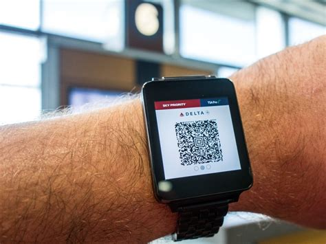 smartwatch   boarding pass     class android central