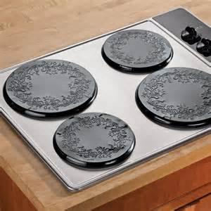 2 Burner Electric Cooktop Burner Covers Decorative Burner Covers Kitchen