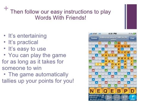 How To Play Scrabble For Free With Friends On An Iphone